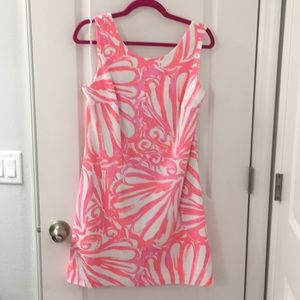 Lilly Pulitzer Pink White Dress
